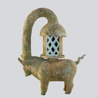Chinese Ox Lamp