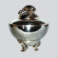 Danish - Georg Jensen Blossom Sugar Bowl