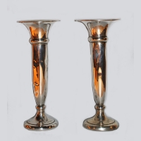 UK - Charles Perry Silver Vases