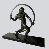 French - Kowas Art Deco Sculpture