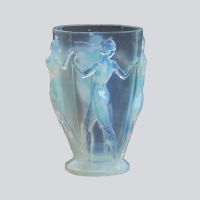 French - Art Deco Glass Vase