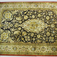 Persian Qum Silk Carpet
