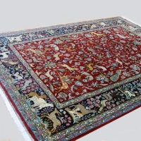Persian Qum Wool Carpet
