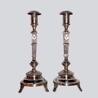 Polish - Silver Sabbath Candlesticks
